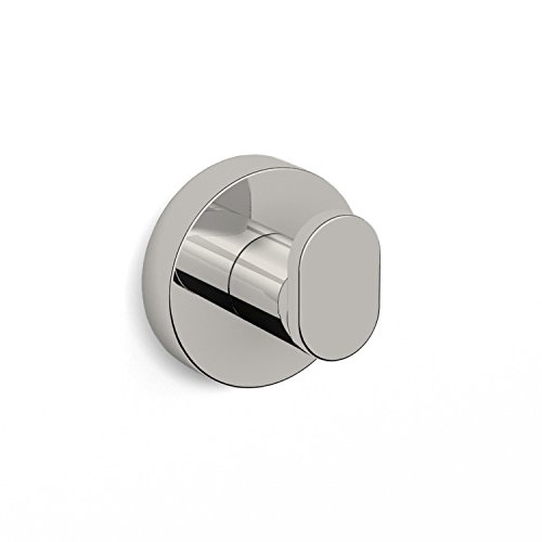 Nameeks NNBL0041 Grand Hotel Bathroom Hook, Satin Nickel