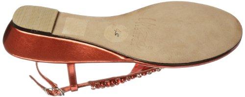 Unze Evening Sandals L18373W - Sandalias para mujer Rojo