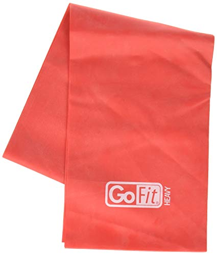 GoFit Heavy Flat Resistance Band - Latex Free