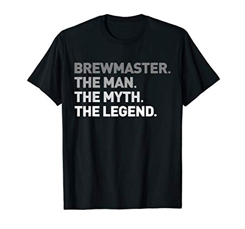 (Brewmaster T-Shirt Cool Craft Ipa Ale Beer Drink Brewer Tee)