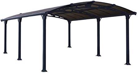 Palram Arcadia 5000 Carport Gris – Robusta Estructura para Uso Durante Todo el año: Amazon.es: Jardín