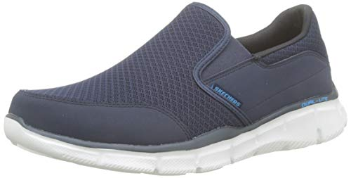 Skechers Sport Men's Equalizer Persistent Slip-On Sneaker, Navy, 11 M US