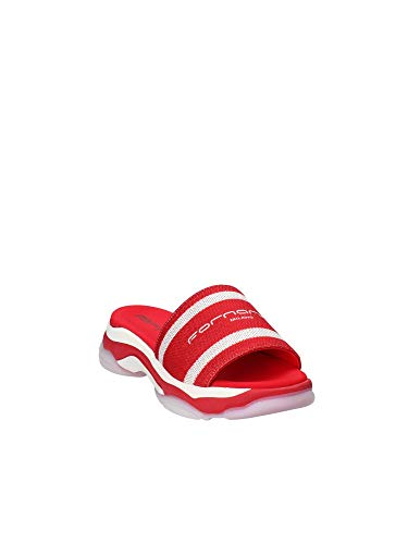 Sandales Bout Super10 Femme Rouge Ouvert Fornarina f654qq
