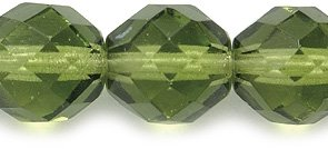Transparent Faceted Beads - 7