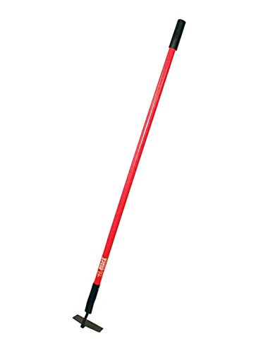 Bully Tools 92346 12-Gauge Nursery/Beet Hoe with Fiberglass Handle, 6-Inch by 2.5-Inch