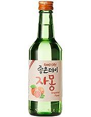 Goodday Scarlet Soju, Grapefruit , 360ml, 13.5% Alc.