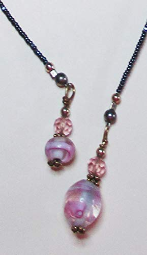 Beaded Lampwork Swarovski Bookmark - 3