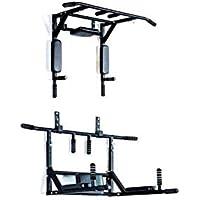 Protoner 3 in 1 Multi Chin Up Bar Dips Bar Push Up Bar Home Gym Wall, Adult
