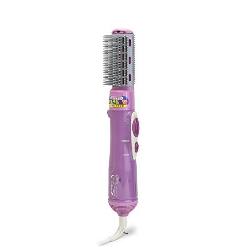 TESCOM Hot Air Brush Hair Curl Dryer 700W Pink, TB61U-P by TESCOM