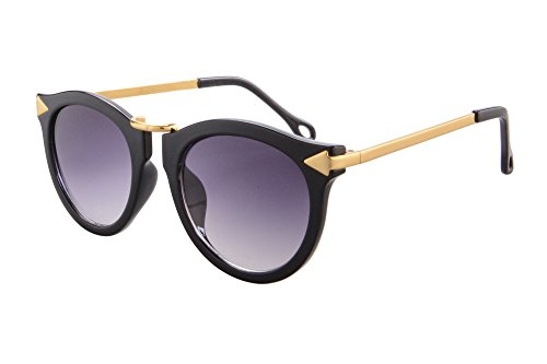Prtection Black Grey De Uv Femme Shinu Lunettes Soleil gradient b086 Eyewear T8qvUf
