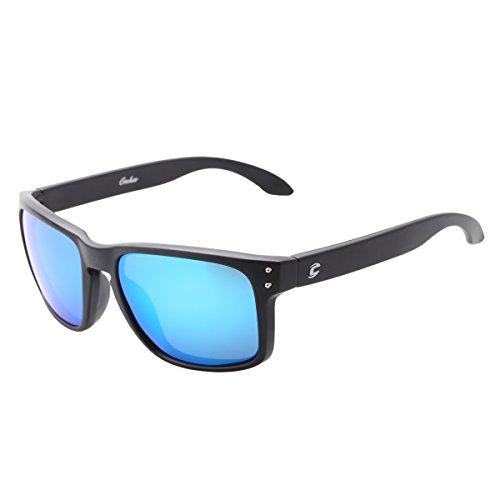 polarized wayfarer sunglasses reflective color full mirrored