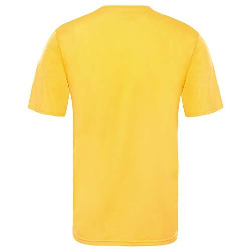 North Flex zinnia T T shirt Orange Homme Orange Ii Face The 74dq6xwH7
