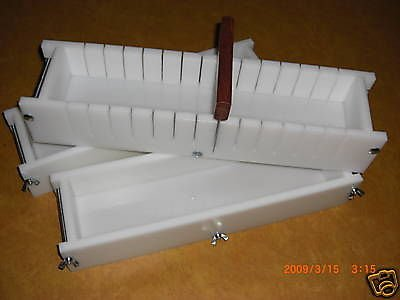 4-5 Lb Soap Molds & BAR Slicer SET by MRDORIGHT (Image #1)