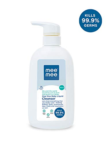 Mee Mee Baby Accessories And Vegetable Liquid Cleanser 300ml Bottle at best price