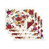 the Pioneer Woman Timeless Floral Reversible Placemats, P...