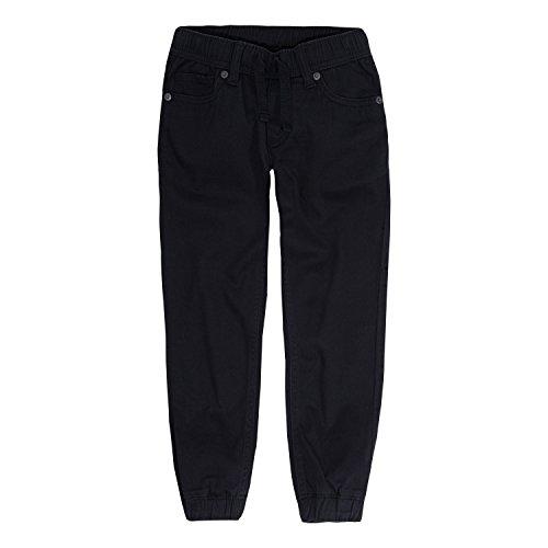 Levi's Boys' Big Chino Jogger Pants, Black, M