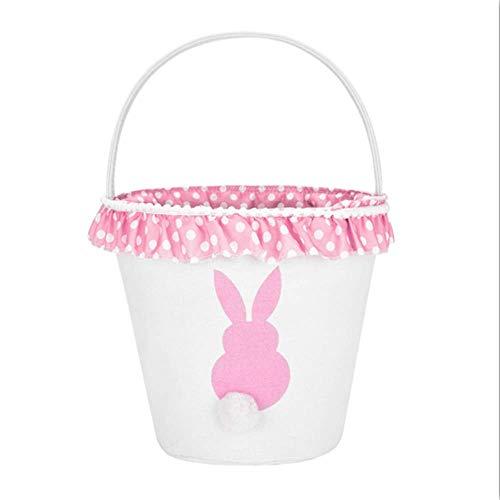 (H.Xin Easter Eggs Basket/Rabbit theme basket)