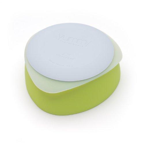 - Yummy Pet Travel Dog Bowls - Key Lime - Medium