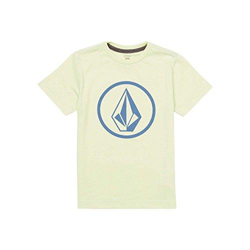 Youth Stone T-shirt (Volcom Little Boys' Circle Stone Short Sleeve Tee Youth Mist Green)
