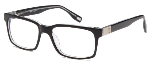 Frames Prescription Eyeglasses Rxable 55-18-145-37 in Black ()