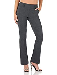 Women's Ease in to Comfort Fit Classic Bootcut Pant w/Tummy Control