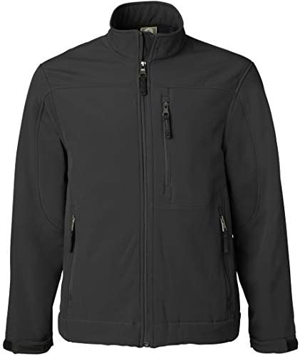 Weatherproof Men's Midweight Water and Wind Resistant Soft Shell Jacket (S-3XL)