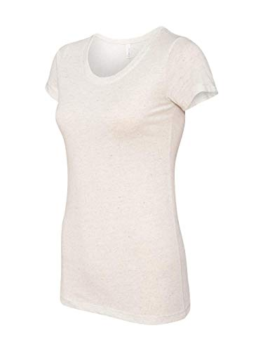 (Bella + Canvas Women's Triblend Tee, Oatmeal Triblend, XX-Large)
