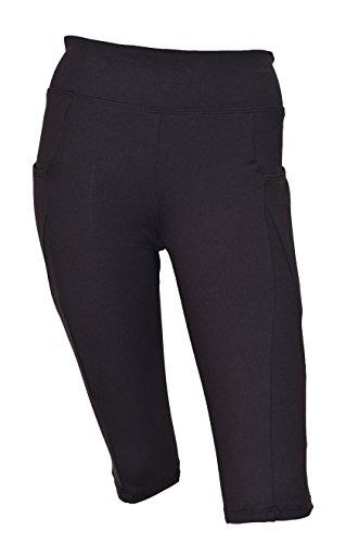 Private Island Hawaii Women UV Rash Guard Shorts Pants Leggings Pockets Workout Outdoor Track Suit/Yoga/Fitness/Clothing/RSLP