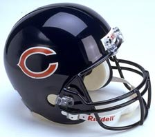 (Riddell Chicago Bears Full Size Replica Helmet)