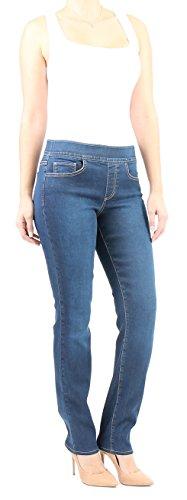 Indigo Society Women's Modern Classic Straight Jean