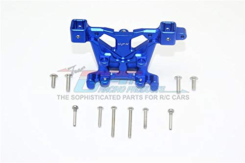 GPM Traxxas E-Revo 2.0 VXL Brushless (86086-4) Upgrade Parts Aluminum Rear Body Post Mount - 1Pc Set Blue