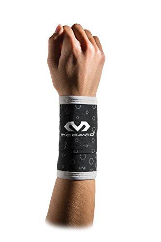 McDavid 6583 Ucool Wristband Cooling Wrist Sweatbands Wit...