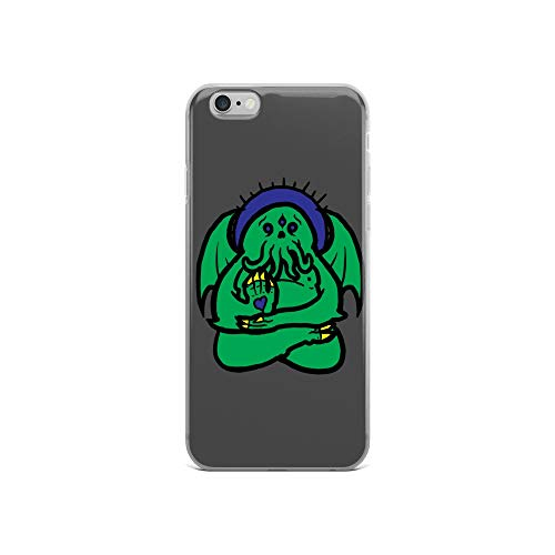 iPhone 6/6s Case Anti-Scratch Creature Animal Transparent Cases Cover Spirit Animal Cthulhu Animals Fauna Crystal Clear -
