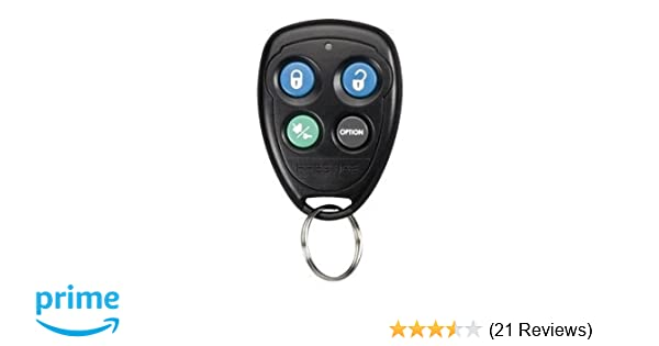 Prestige Audiovox 91P (FCC ID: H50T43) Keyless Entry/Alarm/Remote Start Remote + Programming Instructions