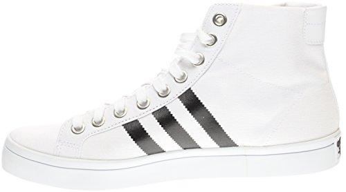 Hvite Adidas Midten Courtvantage Joggesko Mote Menn Op1r4XqWO