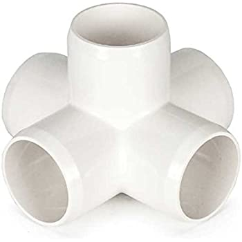 """3/4"""" 5-way Cross PVC Fitting Connector"""