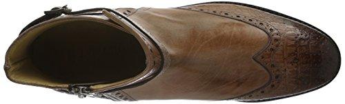 Melvin&Hamilton Amelie 11, Zapatillas de Estar por Casa para Mujer Multicolor - Mehrfarbig (Baby Croco LT.ROSE/Crust LT.ROSE/Strap Aztek Gold Rose/LS)