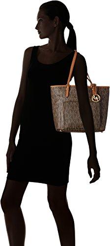 Michael Kors N /S Jet Set Tote bolso bandolera mujer marrón