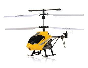 UdiRC U6 3.5-Channel RC Mini Alloy Helicopter (Yellow)