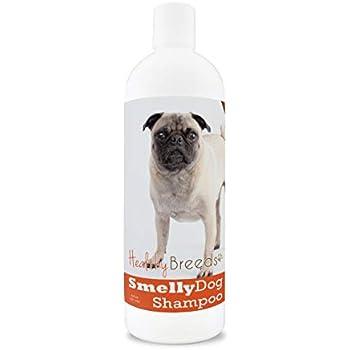Amazoncom Healthy Breeds Dog Deodorizing Shampoo For Pugs Over