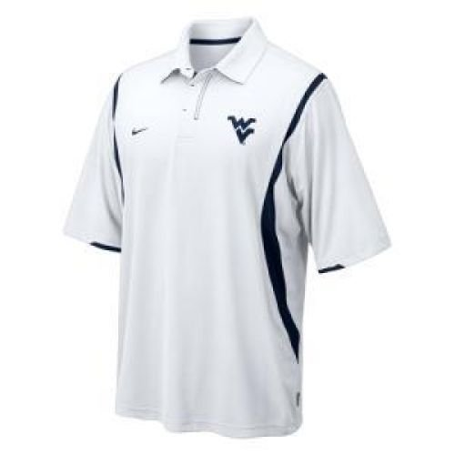 Double Reverse Mens Polo (West Virginia Mountaineers Double Reverse Polo - Men - 2XL)