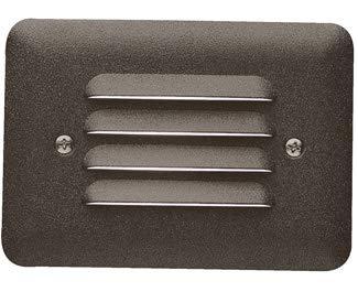 Kichler 15072AZT Step 1-Light 12V, Textured Architectural Bronze