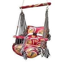 AMENA ENTERPRISES Soft Cotton Swing for Kids, Medium (Multicolour)