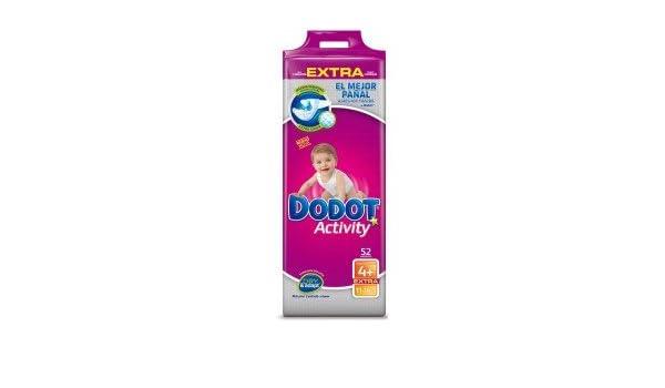 Dodot - Pañales Dodot Activity Extra T4 52 uds: Amazon.es: Salud y cuidado personal