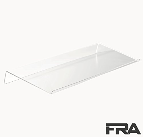 Premium Ergonomic Keyboard Stand by First-Rate Acrylics|Deluxe Clear Acrylic Riser for Computer Gaming and Typing|Universal Elevated Stand for Office/Home Desktop with Scratch-Free Protection