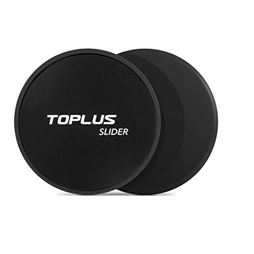 - TOPLUS Exercise Slider, Dual Sides Strength Slider for Core Exercise and Full Body Workout