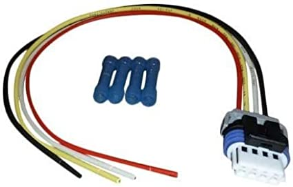 also Used for Fuel Pumps and Idle Speed Sensors 4 Way Female FITS ACDelco GM Vehicles Includes Splices Muzzys PT1627 Ignition Coil Repair Connector and Pigtail Harness
