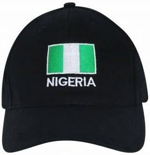 2 Pack Vintage Baseball Cap Unisex Love Nigeria Flag Map Adjustable Baseball Hats Dad Hat