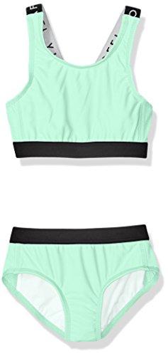 Seafolly Big Girls' Summer Essentials Tankini, Mint, 8
