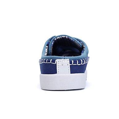 Zapatos de hombre / Exterior / Tejido Lona Casual Moda Sneakers Azul / verde / azul real Green